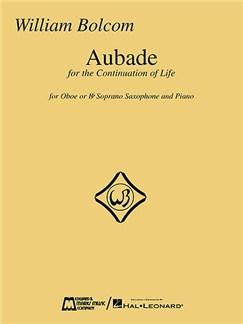 William Bolcom: Aubade Books | Oboe, Piano