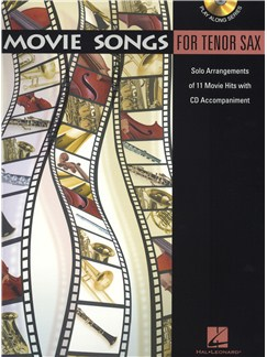 Movie Songs (Tenor Saxophone) Books and CDs | Tenor Saxophone