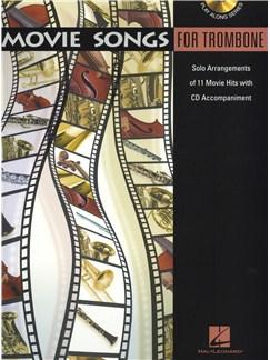 Movie Songs (Trombone) Books and CDs | Trombone