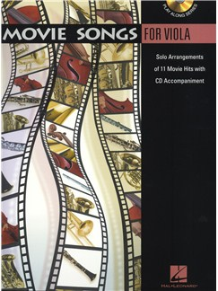 Movie Songs (Viola) Books and CDs   Viola