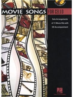 Movie Songs (Cello) Books and CDs | Cello