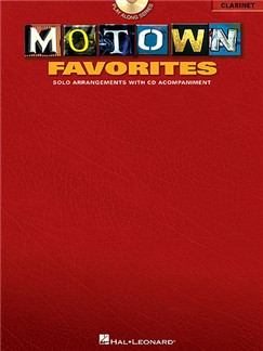 Motown Favorites (Clarinet) Books and CDs | Clarinet