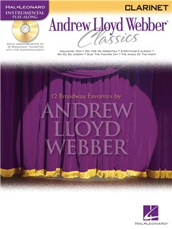 Instrumental Play-Along: Andrew Lloyd Webber Classics (Clarinet) Books and CDs | Clarinet