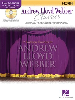 Instrumental Play-Along: Andrew Lloyd Webber Classics (Horn) Books and CDs | French Horn