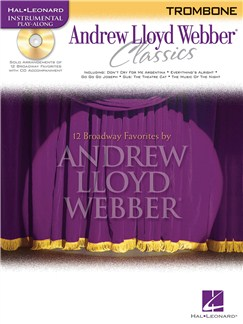Instrumental Play-Along: Andrew Lloyd Webber Classics (Trombone) Books and CDs | Trombone