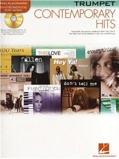 Instrumental Play-Along: Contemporary Hits (Trumpet) Books and CDs   Trumpet