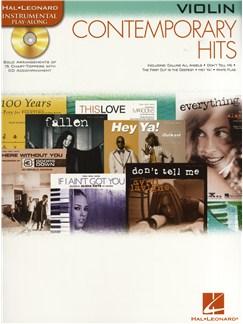 Instrumental Play-Along: Contemporary Hits (Violin) Books and CDs | Violin