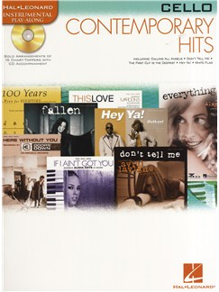 Instrumental Play-Along: Contemporary Hits (Cello) Books and CDs | Cello