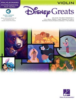 Disney Greats: Violin (Book/Online Audio) Books and Digital Audio | Violin