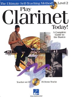 Play Clarinet Today! Level 2 Books and CDs | Clarinet