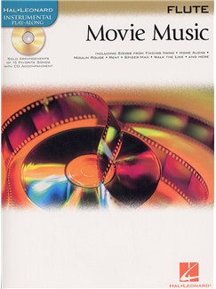 Hal Leonard Instrumental Play-Along: Movie Music (Flute) Books and CDs | Flute