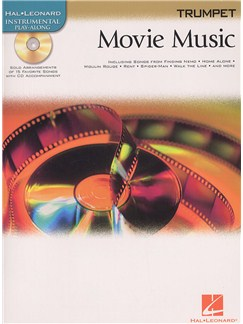 Hal Leonard Instrumental Play-Along: Movie Music (Trumpet) Books and CDs | Trumpet