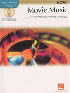 Hal Leonard Instrumental Play-Along: Movie Music (French Horn) Books and CDs | French Horn