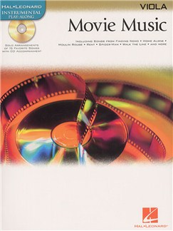 Hal Leonard Instrumental Play-Along: Movie Music (Viola) Books and CDs | Viola