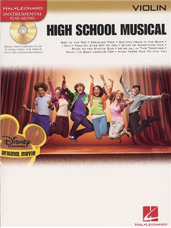 High School Musical - Selections (Violin) Books and CDs | Violin