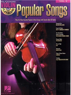 Violin Play-Along Volume 2: Popular Songs Books and Digital Audio | Violin