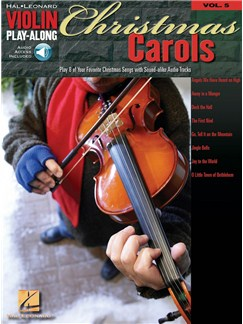 Violin Play-Along Volume 5: Christmas Carols (Book/Online Audio) Books and Digital Audio | Violin