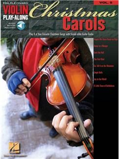 Violin Play-Along Volume 5: Christmas Carols Audio Digitale et Livre | Violon