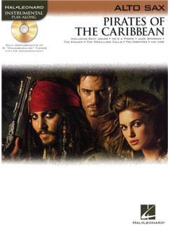Klaus Badelt: Pirates Of The Caribbean (Alto Sax) Bog og CD | Altsaxofon