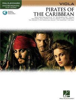 Klaus Badelt: Pirates Of The Caribbean (Viola) (Book/Online Audio) Bog og Digitale Audio | Bratsch