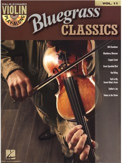 Violin Play-Along Volume 11: Bluegrass Classics Books and CDs | Violin