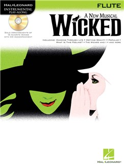 Hal Leonard Instrumental Play-Along: Wicked (Flute) Books and CDs | Flute