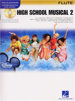 Hal Leonard Instrumental Play-Along: High School Musical 2 (Flute) Books and CDs | Flute
