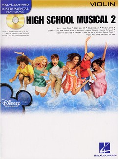 Hal Leonard Instrumental Play-Along: High School Musical 2 (Violin) Books and CDs | Violin