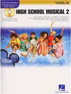 Hal Leonard Instrumental Play-Along: High School Musical 2 (Viola) Books and CDs | Viola