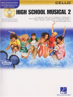 Hal Leonard Instrumental Play-Along: High School Musical 2 (Cello) Books and CDs | Cello