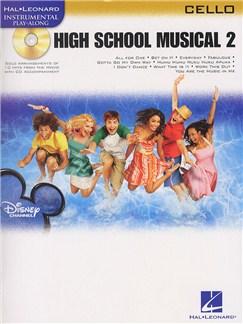 Hal Leonard Instrumental Play-Along: High School Musical 2 (Cello) Books and CDs   Cello