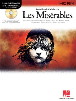 Les Miserables Play-Along Pack - Horn Books and CDs | French Horn