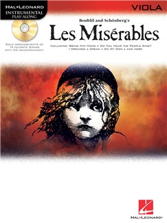 Les Miserables Play-Along Pack - Viola Books and CDs | Viola