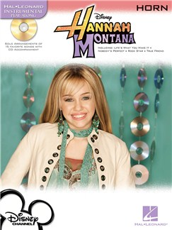 Hal Leonard Instrumental Play-Along: Hannah Montana (Horn) Books and CDs | French Horn
