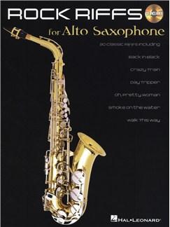 Rock Riffs - Alto Saxophone CD et Livre | Saxophone Alto