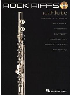 Rock Riffs - Flute CD et Livre | Flûte Traversière
