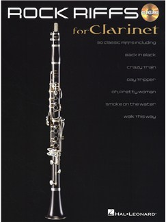 Rock Riffs - Clarinet Books and CDs | Clarinet