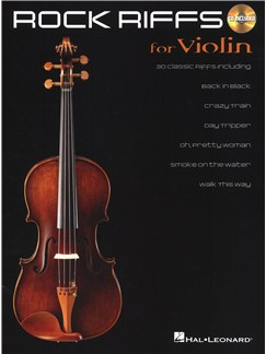 Rock Riffs - Violin CD et Livre | Violon