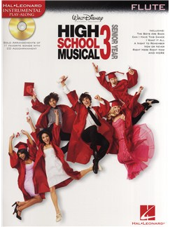High School Musical 3 - Flute Books and CDs | Flute