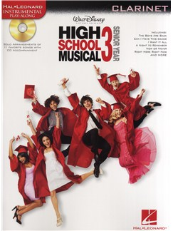 High School Musical 3 - Clarinet Books and CDs | Clarinet