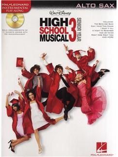 High School Musical 3 - Alto Saxophone Books and CDs | Alto Saxophone