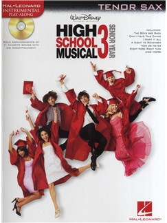 High School Musical 3 - Tenor Saxophone Books and CDs | Tenor Saxophone