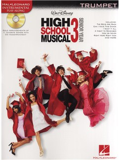 High School Musical 3 - Trumpet Books and CDs | Trumpet