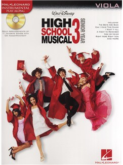 High School Musical 3 - Viola Books and CDs | Viola