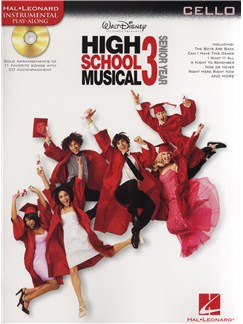 High School Musical 3 - Cello Books and CDs | Cello