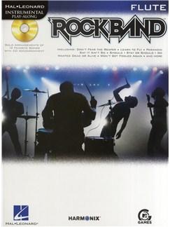 Hal Leonard Instrumental Play-Along: Rock Band (Flute) Books and CDs | Flute