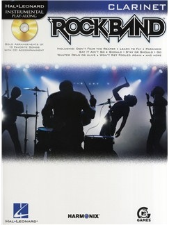 Hal Leonard Instrumental Play-Along: Rock Band (Clarinet) Books and CDs | Clarinet