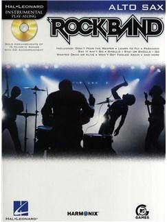 Hal Leonard Instrumental Play-Along: Rock Band (Alto Saxophone) Books and CDs | Alto Saxophone