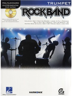 Hal Leonard Instrumental Play-Along: Rock Band (Trumpet) Books and CDs | Trumpet