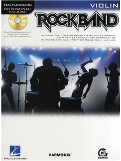 Hal Leonard Instrumental Play-Along: Rock Band (Violin) Books and CDs | Violin